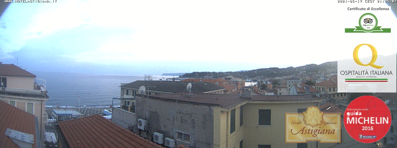Webcam Varazze - Hotel Astigiana&nbsp;Live webcamera
